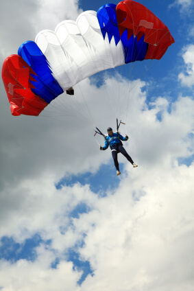 Consider this question: Does the idea of risk conjure up images of the skydiving you hope to do before you die, or of the time you tried to clean your own roof gutter and fell off the ladder? Researchers believe that young working adults associate the concept of risk with excitement, while older people associate it with loss.