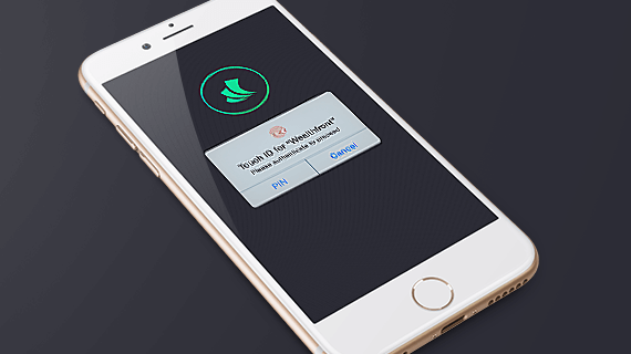 Wealthfront with TouchID