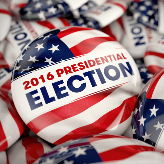 Presidential Election Buttons