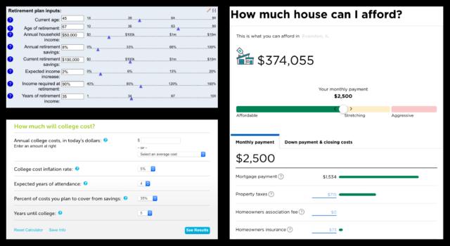 Financial Calculator Online >> Comparing Wealthfront With Online Personal Finance Calculators