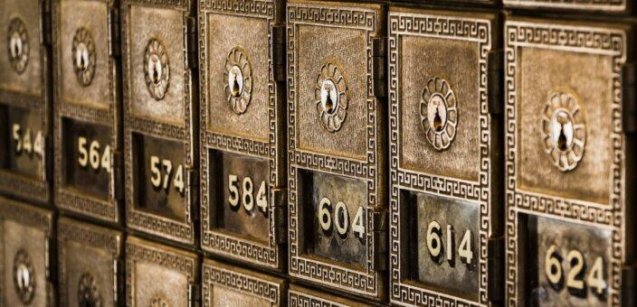 bank deposit box